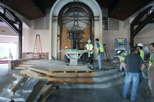 OLMC Church Installation