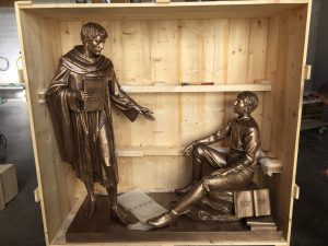 Statue Finishing for St. Augustine