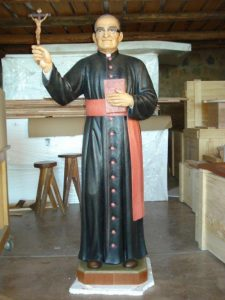 Statue of Blessed Oscar